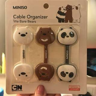 (BN) We Bare Bears Cable Tie Limited