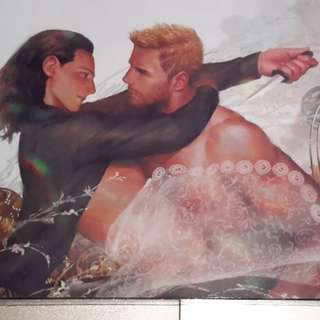 Thor x Loki fanart postcard A5