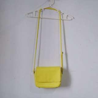 H&M Yellow Sling Bag