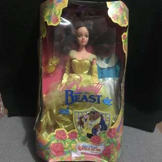 World On Ice Disney Princess Belle Beauty and the Beast Doll RARE!!!!!!
