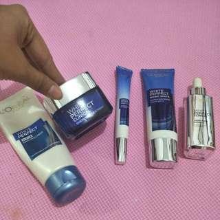 Scrub, night cream,  day cream,  eye cream, serum