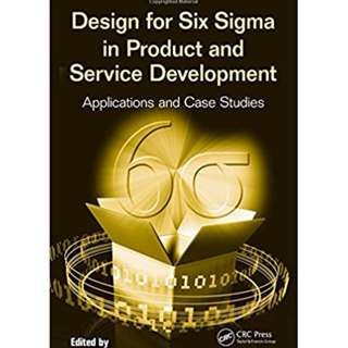 CRC Design for Six Sigma in Product and Service Development