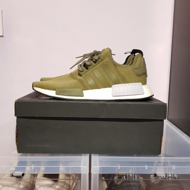 check out e52ab 05478 ($170) [ADIDAS] NMD R1 OLIVE
