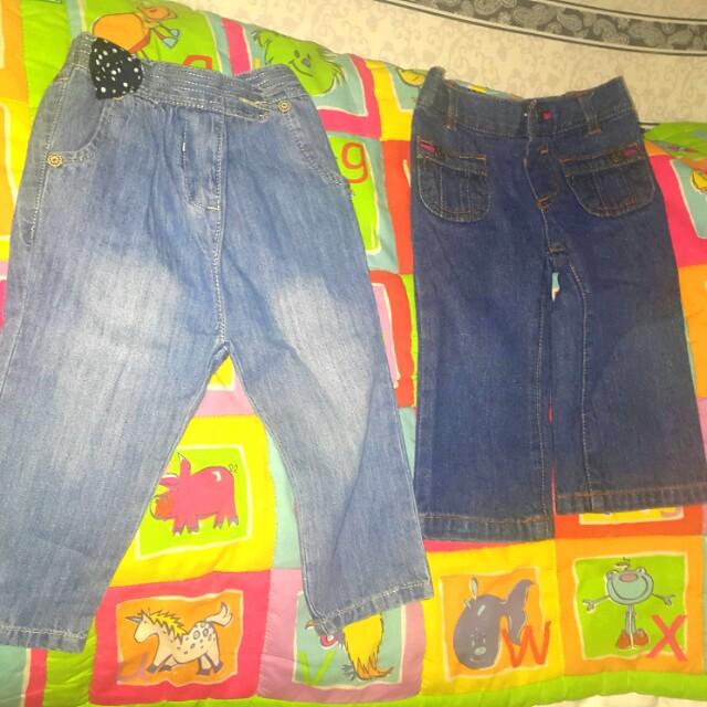 2 celana jeans
