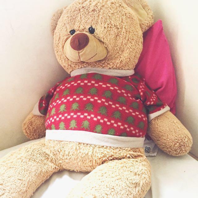 3FT Chubby teddy bear