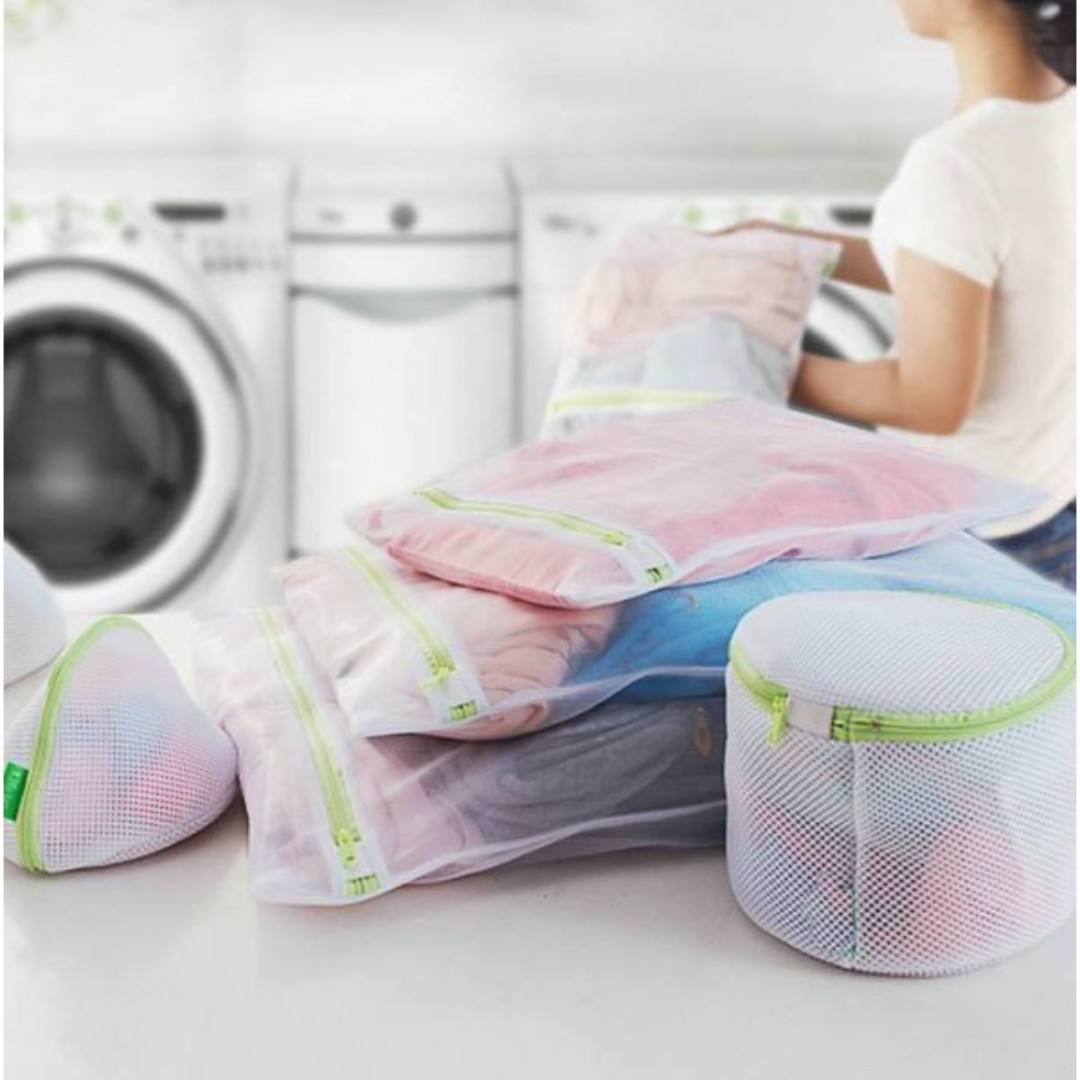 韓國熱賣-加厚洗衣袋6件套