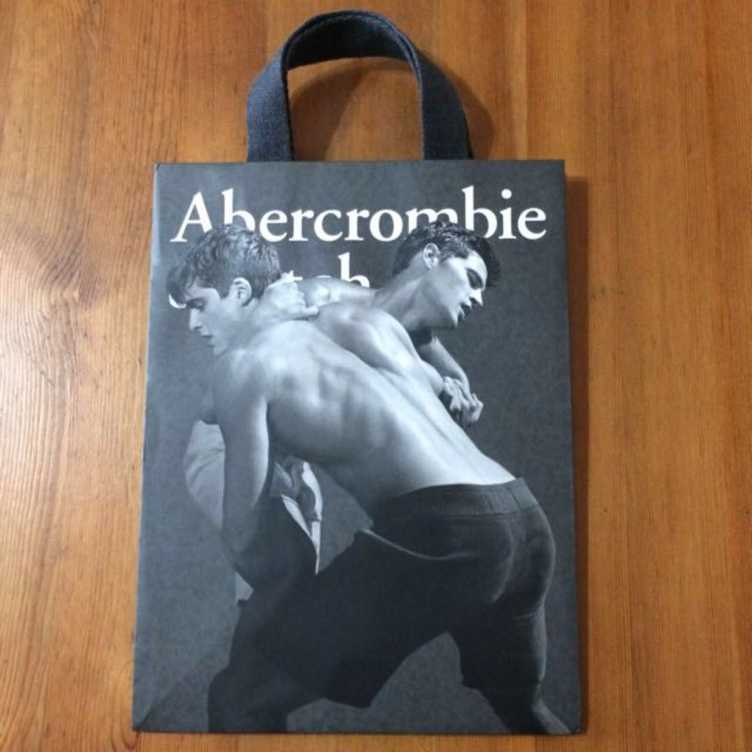 Abercrombie Fitch Paper Bag On Carou