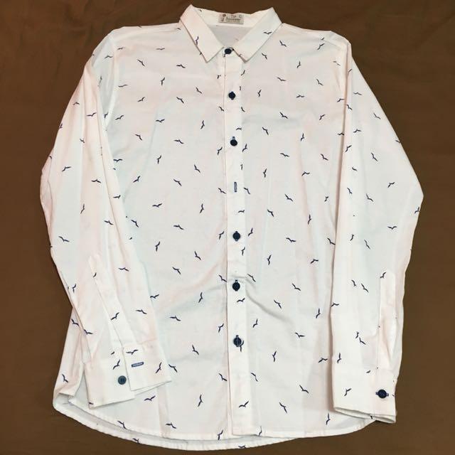 海鷗白襯衫