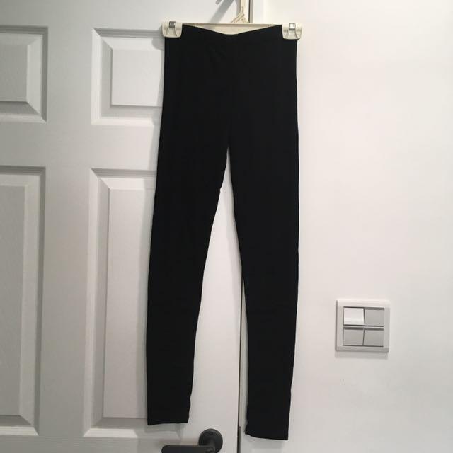 全新黑色內搭褲