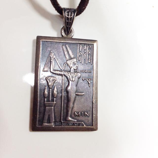 埃及純銀墜