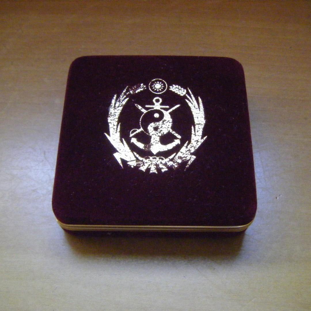 中華民國國防大學-海軍指揮參謀學院 敬贈 (小盒子)