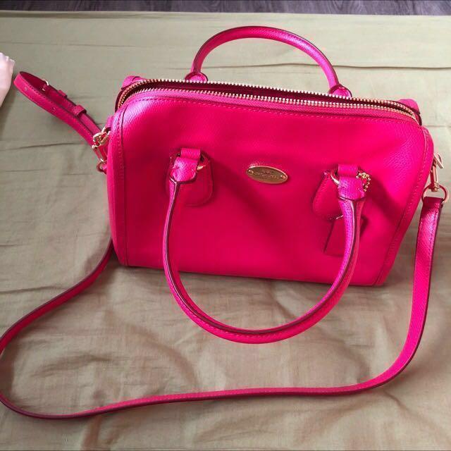 Coach Authentic Pink Bag