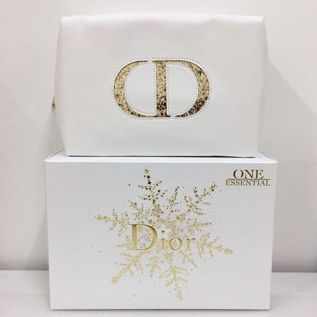 💯 Dior 'Limited Edition Christmas' Make Up Bag
