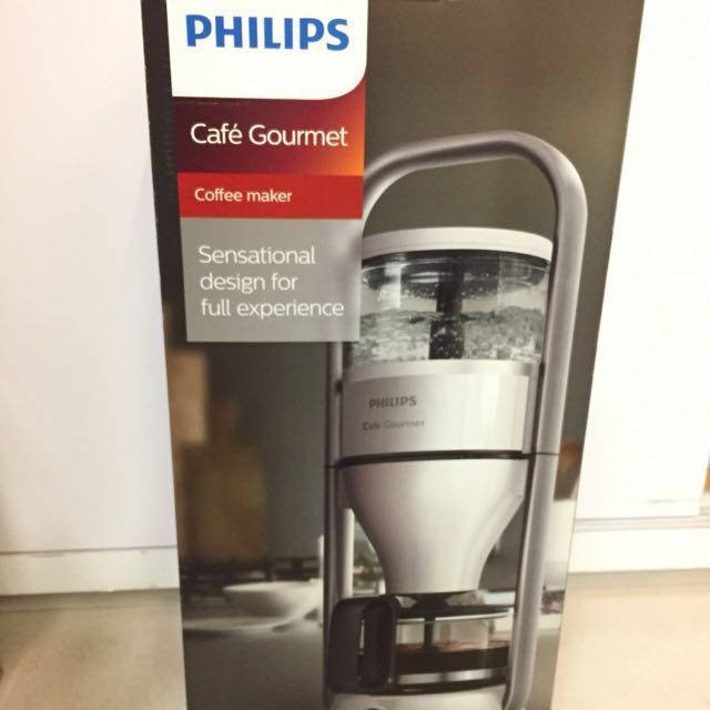 (降)飛利浦 PHILIPS Cafe Gourmet萃取大師咖啡機 HD5407