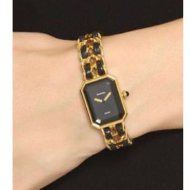 """639e7f425a35 Sold ) CHANEL Premiere Watch In Rare """"Small"""" Size   GHW. Excellent ..."""