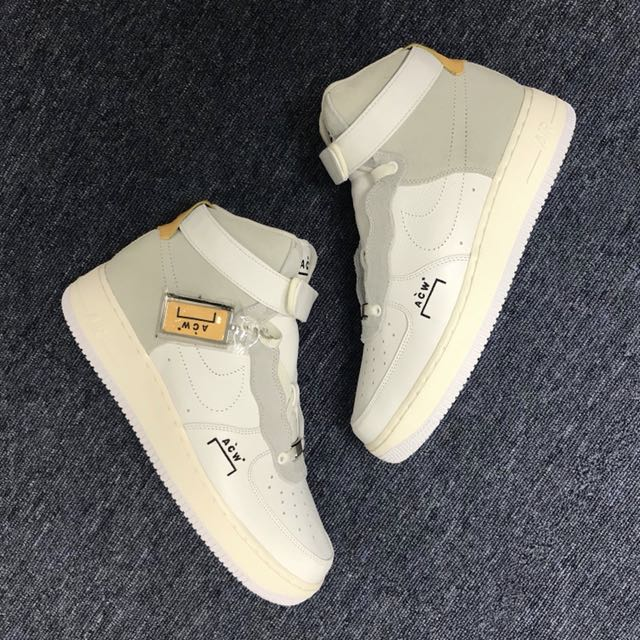 sale retailer afc68 5f06f A COLD WALL NIKE Air Force 1, Mens Fashion, Footwear, Sneakers on Carousell