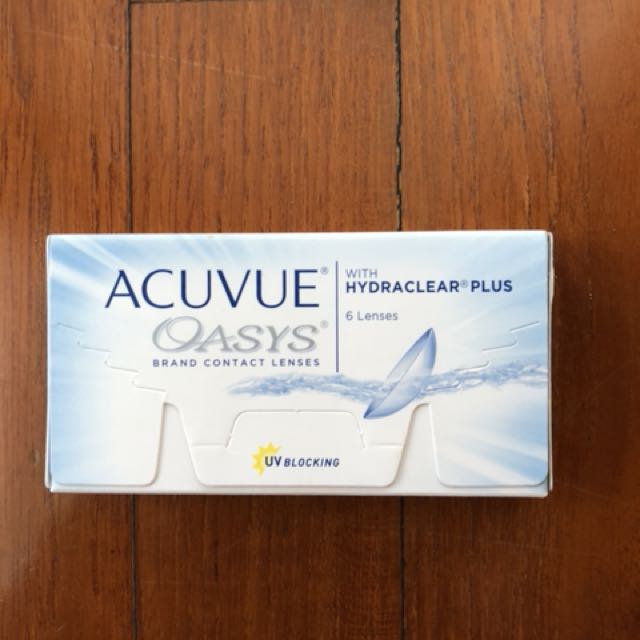 Acuvue Oasys softlens