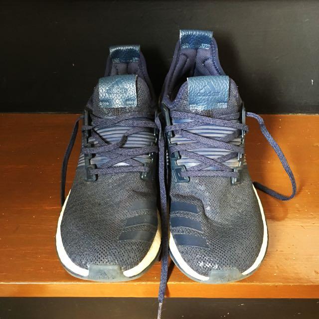 Adidas Pureboost in navy blue