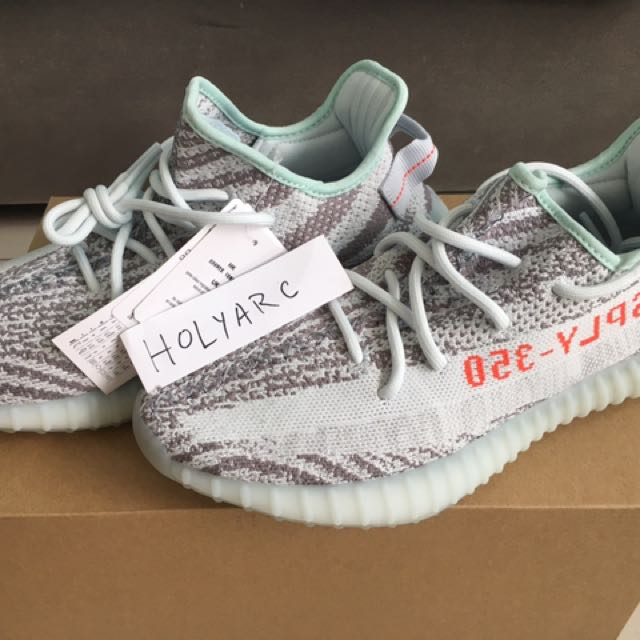 sports shoes 99e0f a9dc8 Adidas Yeezy boost 350 blue tint