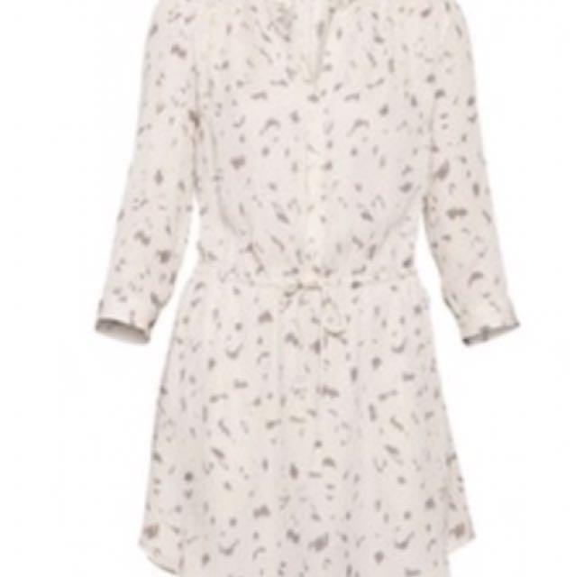 Aritzia - Babaton silk shirt dress small