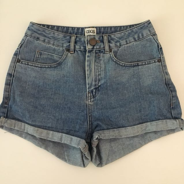 ASOS Mom Denim Shorts