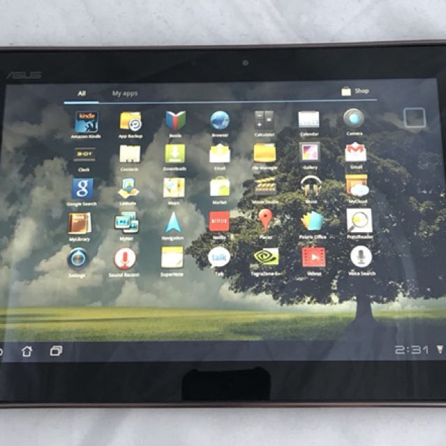 "ASUS Eee Pad Transformer TF101 Touchscreen Tablet 16GB NVIDIA Tegra 2 10.1"" 1280 x 800 Resolution"
