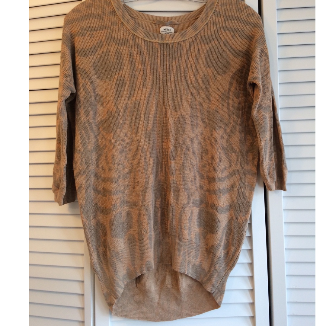 Authentic ARITZIA Wilfred Sweater - RETAIL: $125+tax