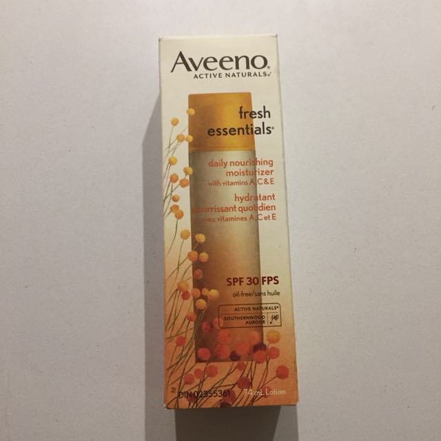 Aveeno facial moisturizer with spf 30