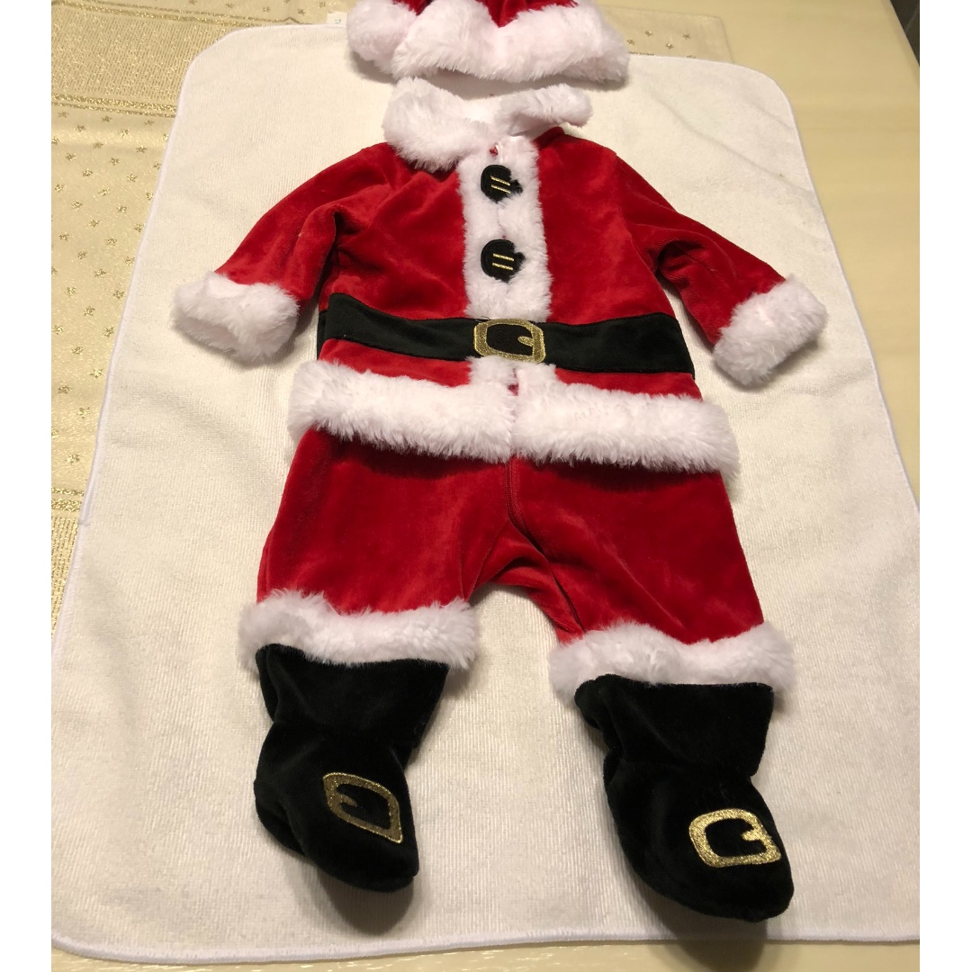 Baby Christmas Clothes-size 50, suitable for babies 1-3 months old, Babies & Kids, Babies Apparel on Carousell