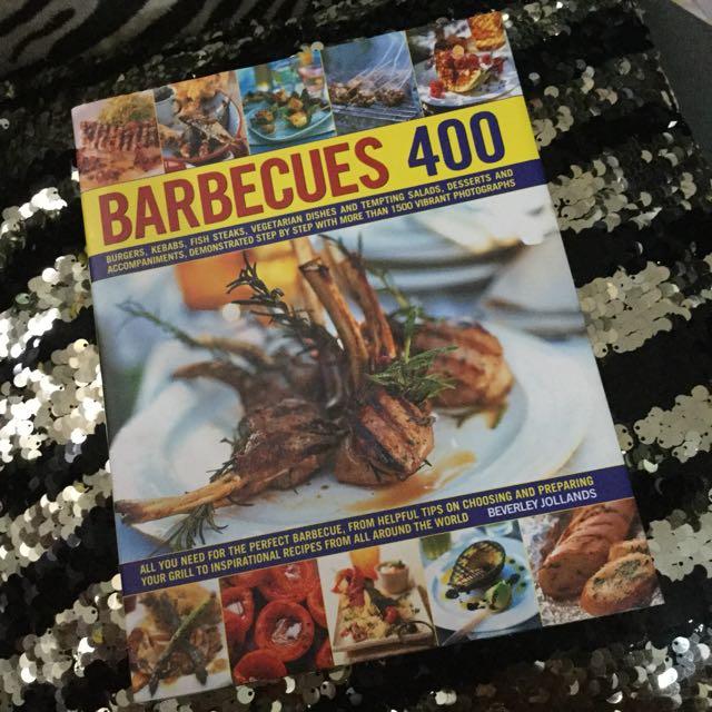 Barbecues 400 recipe book