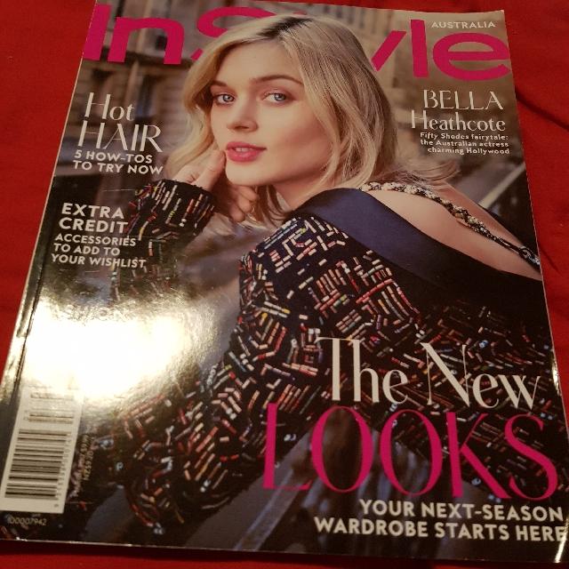 Bella Heathcote InStyle Magazine