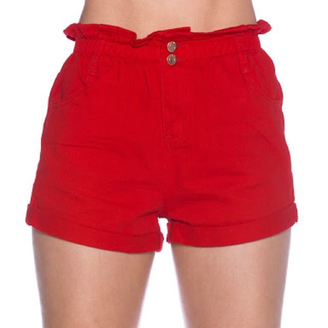 Berleigh red shorts
