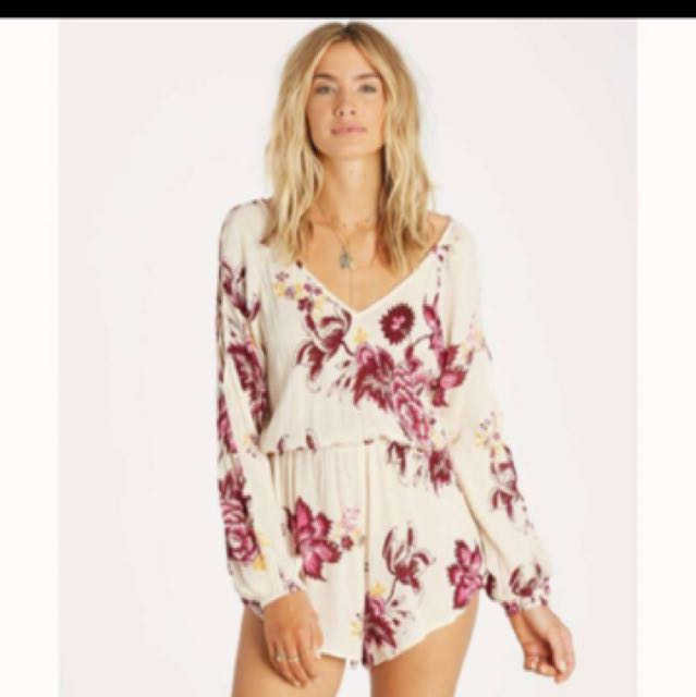 Billabong romper