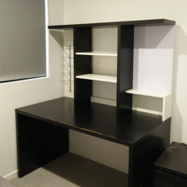 Black IKEA Study Table