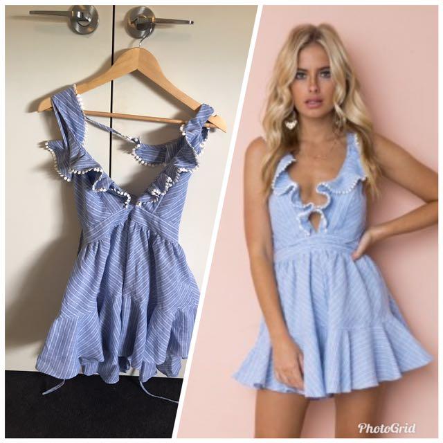 Blue playsuit/dress