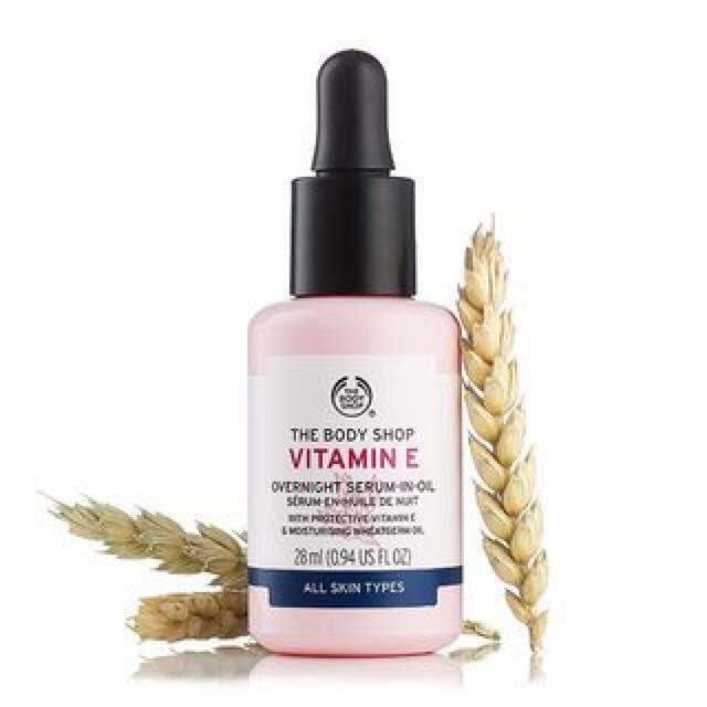 Body Shop Vitamin E Facial Oil