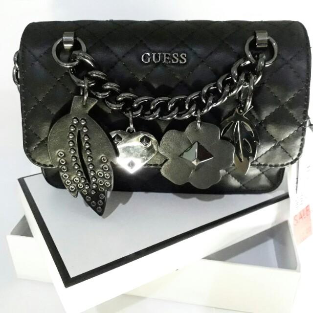 70f52d12f338 Brand New Authentic Guess Stassie Mini Chain Bag