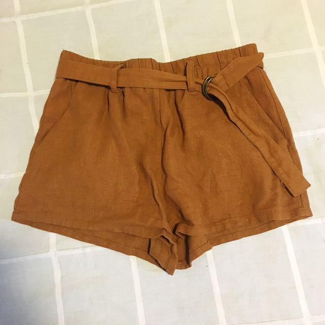 Brown/Orange Shorts