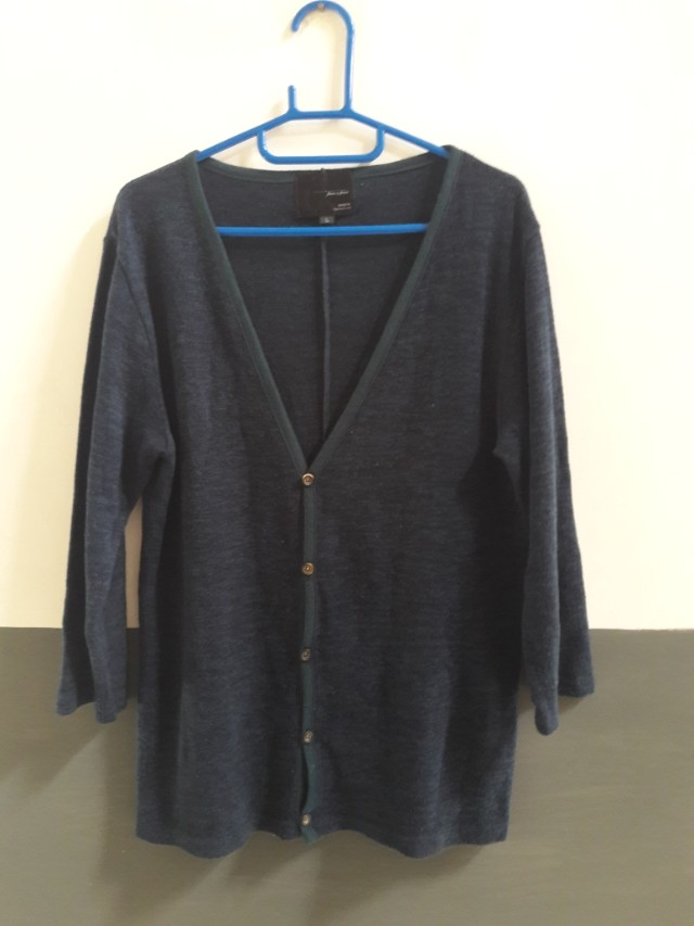 Cardigan Wool Hijau