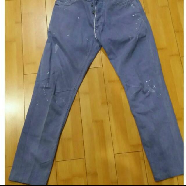 Celana Jeans Zara Warna Biru Kondisi Msh Sngt Bagus Size 31