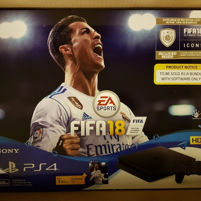(CHEAPEST BRAND NEW) PS4 Fifa 18 Bundle (+ 1x Extra controller)