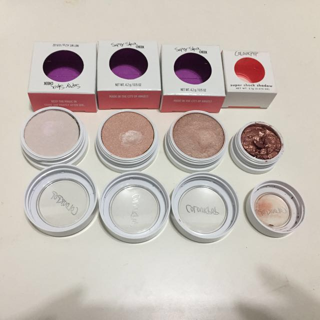 Colourpop 打亮與眼影 monster/butterfly beach/smokin' whistles/眼影sequin