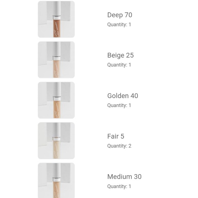 Colourpop Concealers