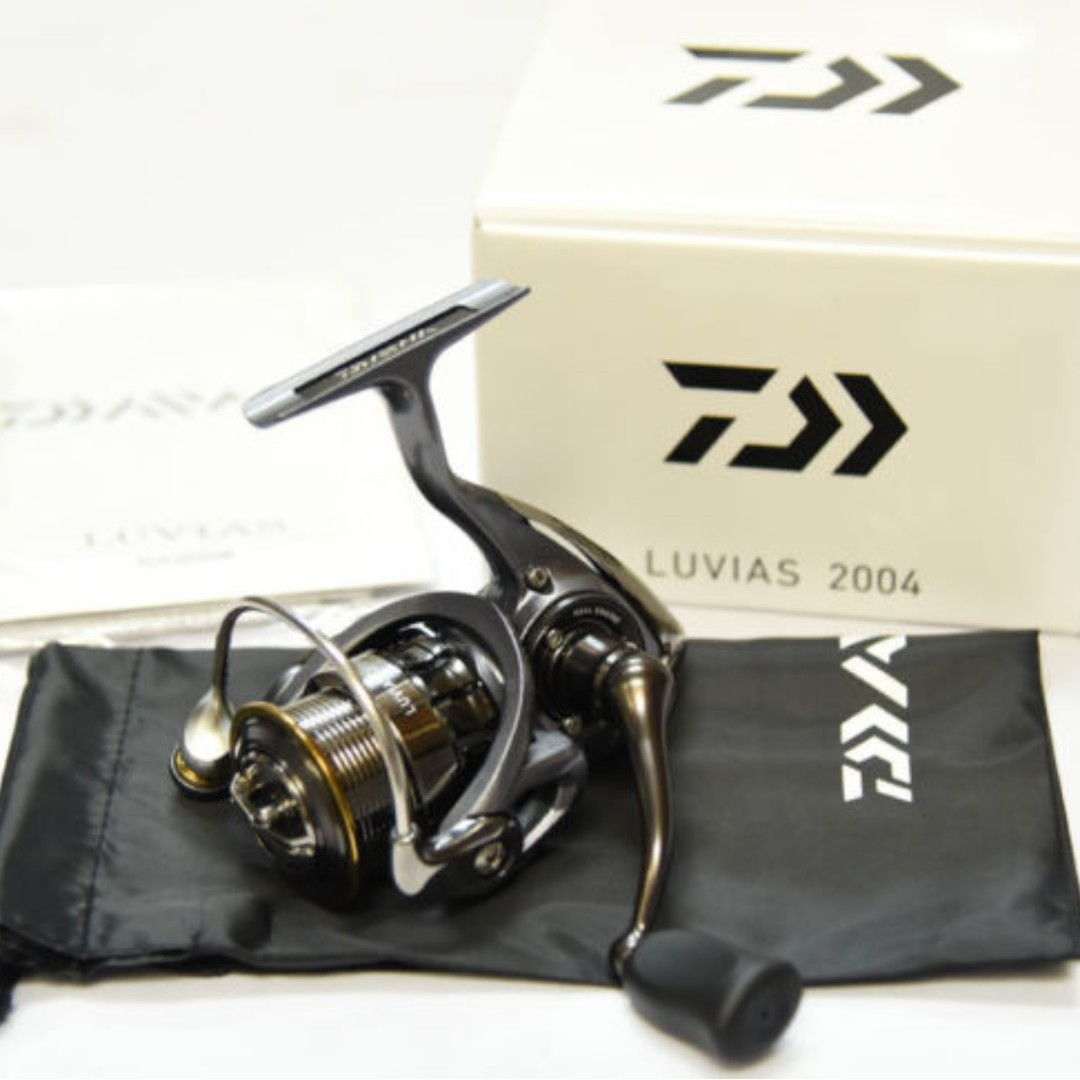 384b3f93e5a Daiwa LUVIAS 2004 fishing spinning reel brand new condition, Sports, Sports  & Games Equipment on Carousell