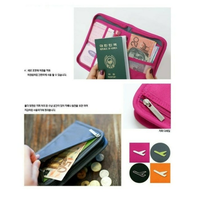 "Dompet  passport / korean passport wallet ""Travelus folder V2"""