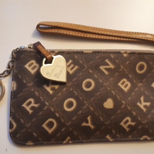 Dooney & Bourke Monogram Wristlet Clutch