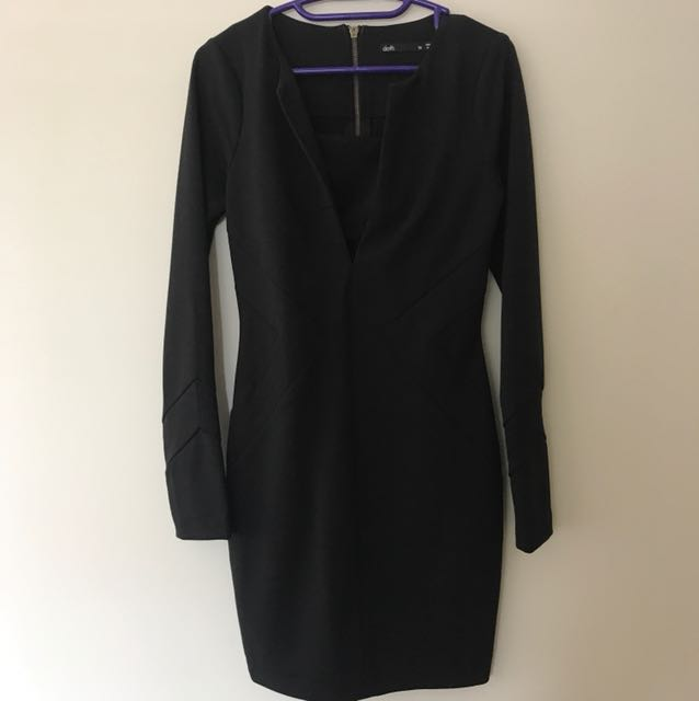 Dotti black XS dress
