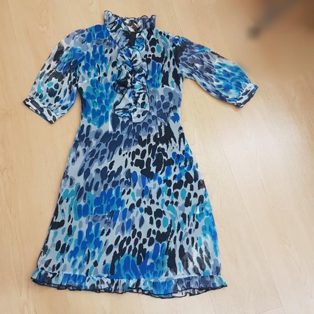 Dress Biru (Blue Dress Mint)
