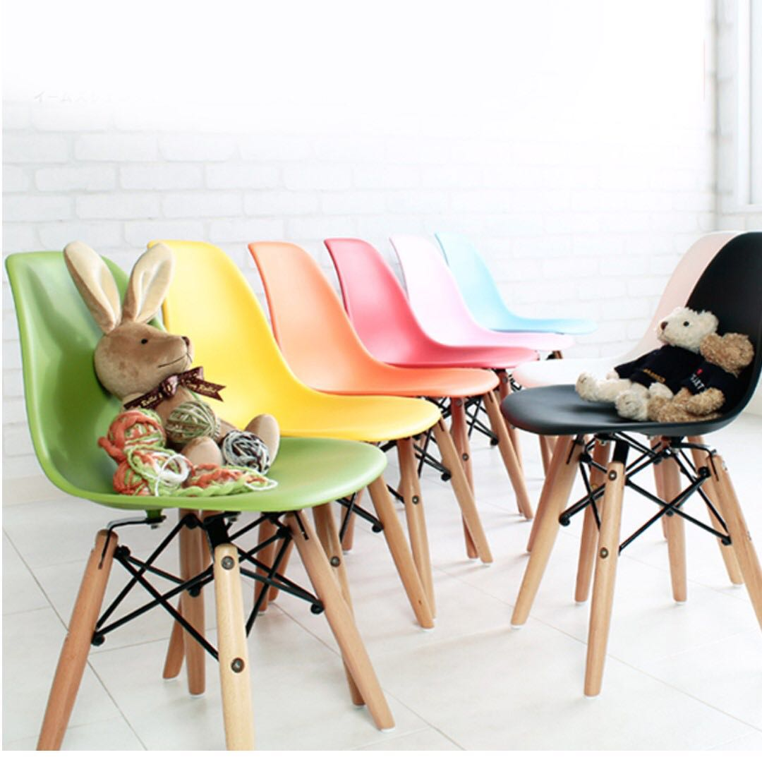 Surprising Eames Kids Size Chair 1 2 Days Delivery Furniture Bralicious Painted Fabric Chair Ideas Braliciousco