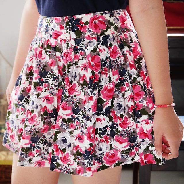 F21 Flare Skirt